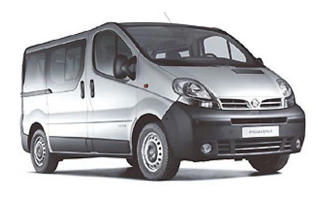 Nissan Primastar con ventanas